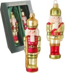 Krebs Glas Lauscha Ornament Glass Nøtteknekkeren