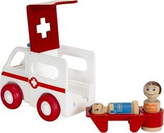 Brio World 30381 - Ambulanse med lys og lyd