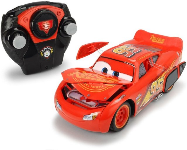 Disney Pixar Cars 3 Lightning McQueen Crazy Crash
