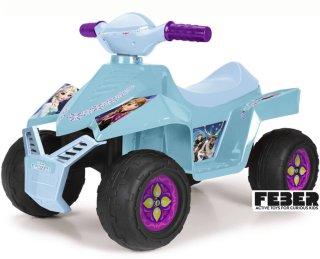 Disney Frozen Elbil Firhjuling