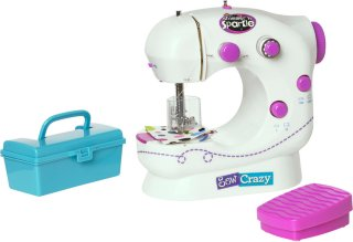 Shimmer 'n Sparkle Sew Crazy Sewing Machine