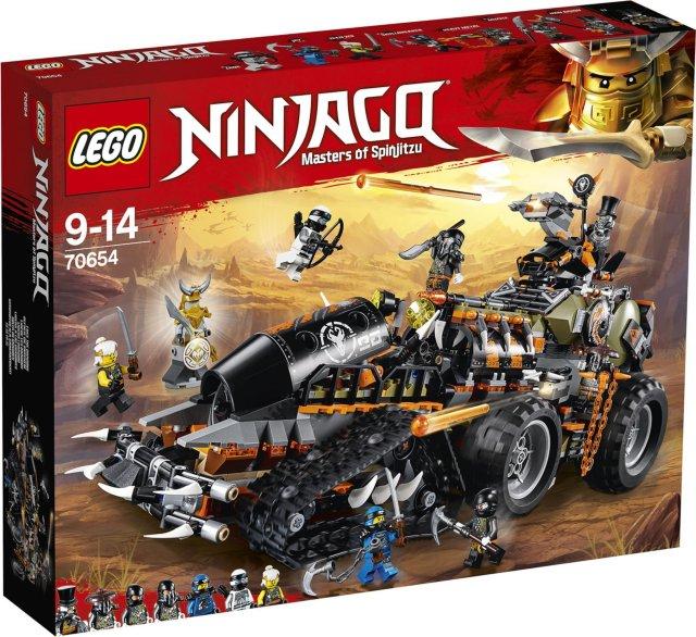 LEGO Ninjago 70654 Dieselnaut
