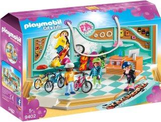 Playmobil City Life 9402 Bike & Skate shop
