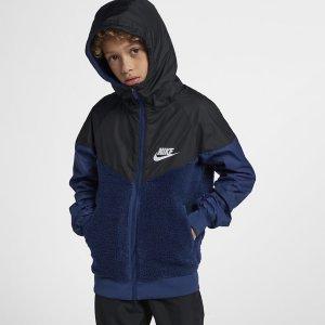 Nike Windrunner Sherpa Jacket (jr)