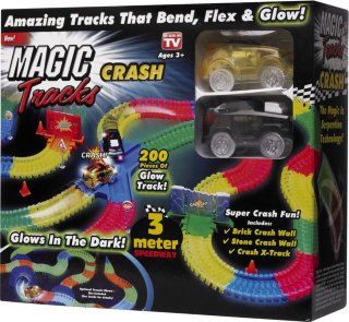 Magic Tracks krasjsett