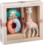 Sophie The Giraffe Sophie-sticated: Sophie and fabric rattle