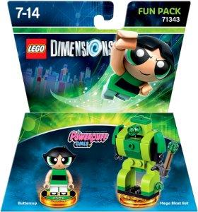 LEGO Dimensions 71343 Fun Pack The Powerpuff Girls