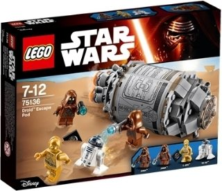LEGO Star Wars 75136 Droid's Escape Pod