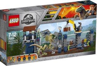 LEGO Jurrasic World 75931 Dilophosaurus Outpost Attac