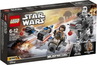 LEGO Star Wars 75195 Ski Speeder vs. Microfighters