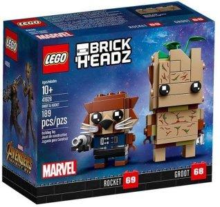 LEGO Brickheadz 41626 Groot & Rocket