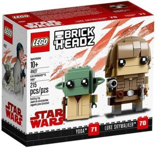 LEGO Brickheadz 41627 Luke Skywalker & Yoda