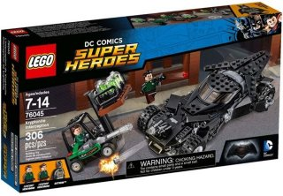 LEGO DC Super Heroes 76045 Kryptonite Interception