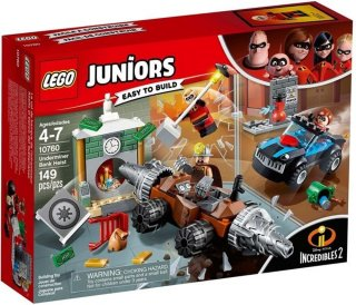 LEGO Juniors 10760 Incredibles 2 - Underminer Bank Heist