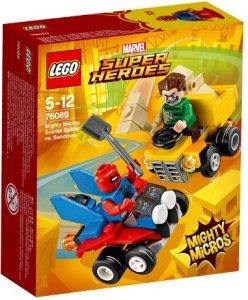 LEGO Marvel Super Heroes 76089 Scarlet Spider vs. Sandman