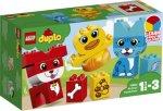 LEGO Duplo 10858 Mitt første dyrepuslespill
