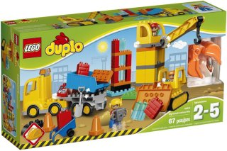 LEGO Duplo 10813 Stor Byggeplass