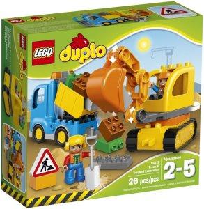 LEGO Duplo 10812 Lastebil og Gravmaskin