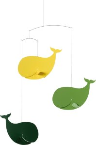 Flensted Mobiles Happy Whales uro