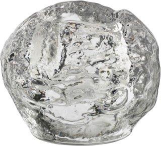 Kosta Boda Snowball telysestake 7cm