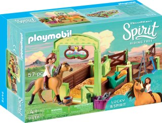 Playmobil Spirit 9478 Lucky Horse Box