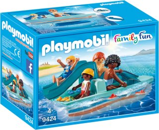 Playmobil Family Fun 9424 Pedalbåt