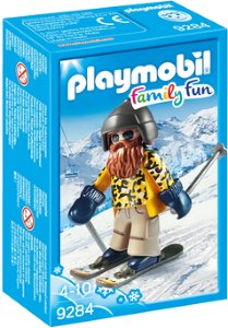Playmobil Family Fun 9284 Snowblades