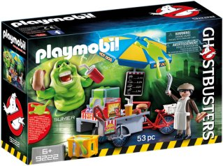 Playmobil Ghostbusters 9222 Slimer Hot Dog Stand