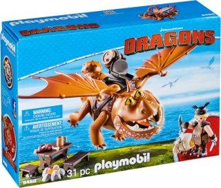 Playmobil Dragons 9460 Fishlegs and Meatlug