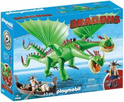 Playmobil Dragons 9458 Ruffnut & Tuffnut with Barf & Belch