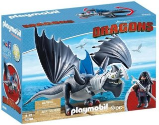 Playmobil Dragons 9248 Drago & Thunderclaw