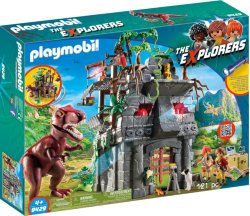 Playmobil The Explorers 9429 Basecamp with T-Rex