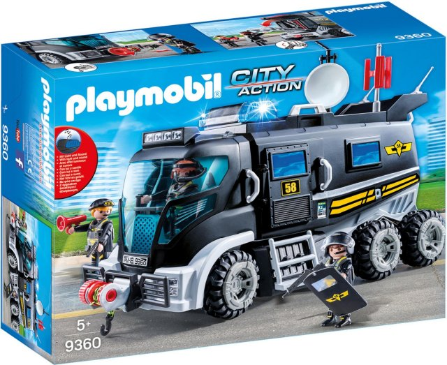 Playmobil City Action 9360 Utrykningskjøretøy