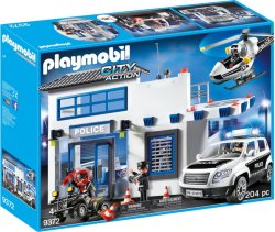 Playmobil City Action 9372 Politistasjon