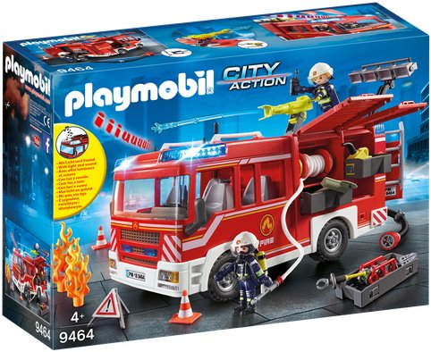 Playmobil City Action 9464 Brannbil