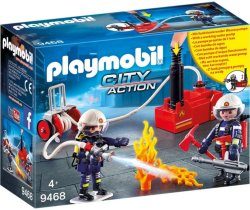 Playmobil City Action 9468 Brannmenn m/vannpumpe