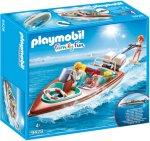 Playmobil Family Fun 9428 Motorbåt & Vannski