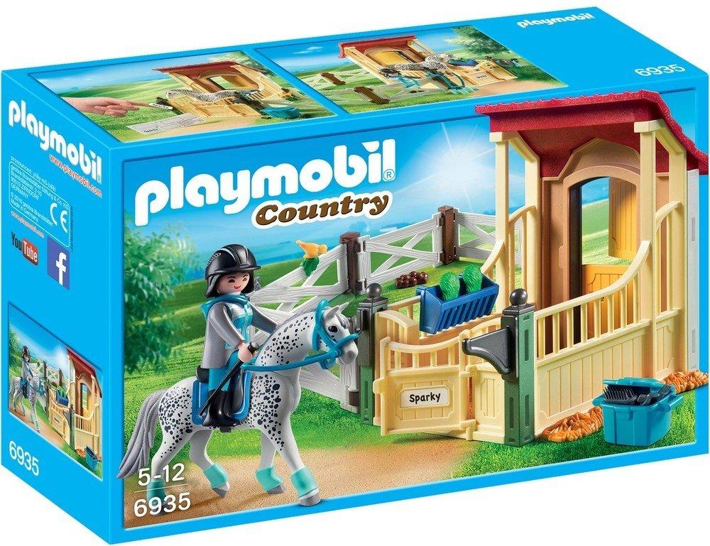 Playmobil Country 6935 Stall m/appaloosahest