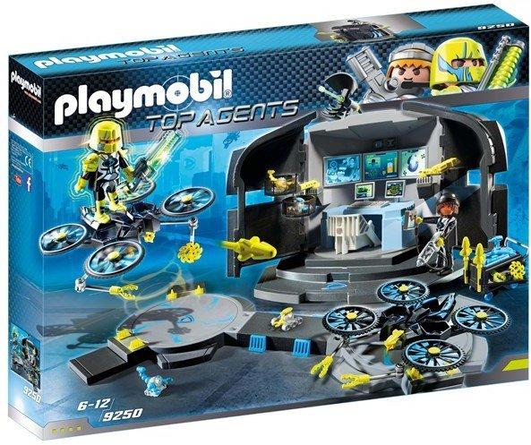 Playmobil Top Agents 9250 Dr. Drones kommandosenter