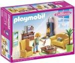 Playmobil Dollhouse 5308 Stue m/peis
