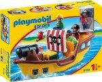 Playmobil 1.2.3 9118 Sjørøverskute