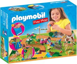 Playmobil Play Map 9331 Ponnipark