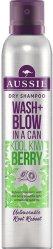 Aussie Wash + Blow Kool Kiwi Berry tørrshampoo 180ml