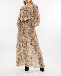 Rotate by Birger Christensen Long Sheer Dress