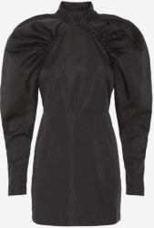 Rotate by Birger Christensen Plain Black Dress