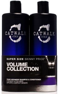 TIGI Catwalk Your Highness Shampoo & Conditioner 2x750ml
