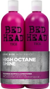 TIGI Bed Head Recharge High-Octane Shine Shampoo & Conditioner 2x750ml