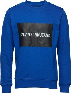 Calvin Klein Jeans Institutional Box logo Sweatshirt