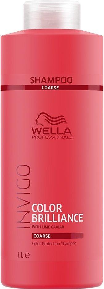 Wella Professionals Invigo Color Brilliance Shampoo Coarse 1000ml AAxwwc