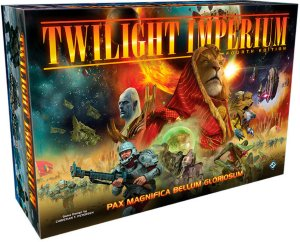 Twilight Imperium 4th Edition Brettspill